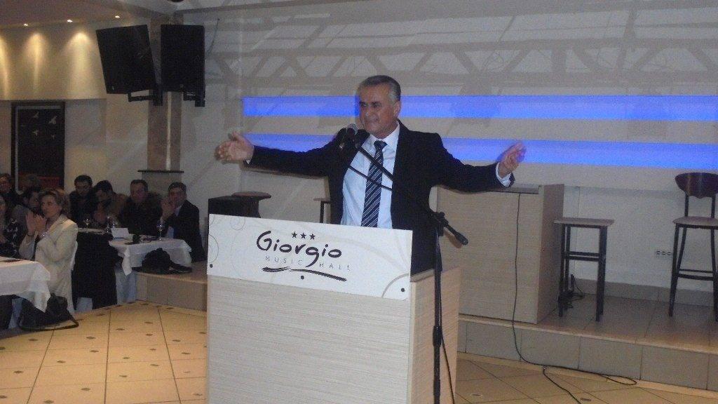 Κοσμοπλημμύρα στην κεντρική προεκλογική ομιλία του βουλευτή Σάββα Αναστασιάδη σήμερα στη Σίνδο
