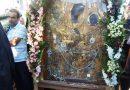 Πλήθος προσκυνητών στην υποδοχή της ιερής εικόνας Παναγίας Γοργοϋπηκόου