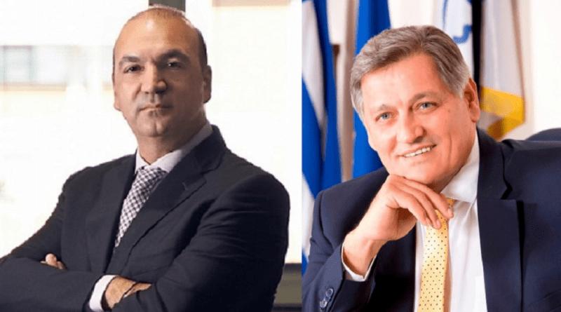Α΄αντιπρόεδρος αναλαμβάνει ο πρόεδρος του ΕΒΕΘ Γ. Μασούτης και Β΄αντιπρόεδρος ο πρόεδρος του ΒΕΘ Π. Παπαδόπουλος