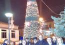 Φωταγώγηση του χριστουγεννιάτικου δέντρου Κριθιάς