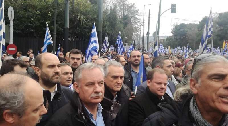 Παρών στο συλλαλητήριο ο Σάββας Αναστασιάδης