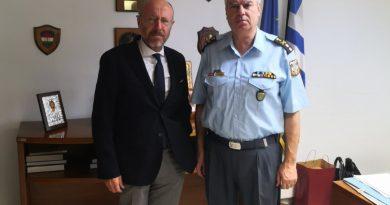 Συνάντηση με τον Γενικό Αστυνομικό Διευθυντή Θεσσαλονικής