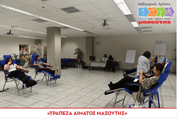 trapeza aimatos masoutis 2019