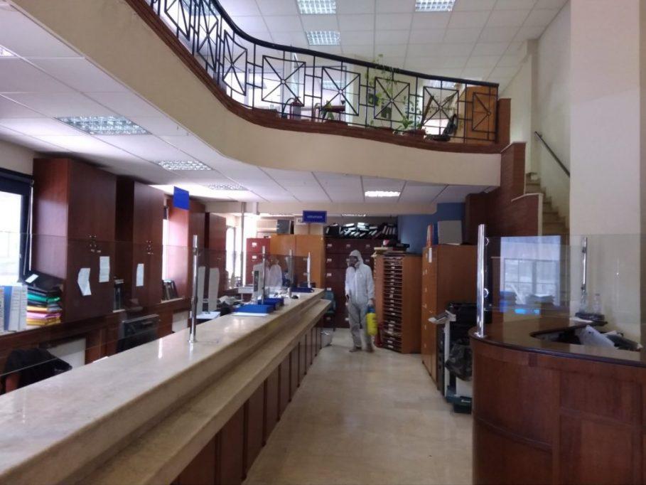 Προληπτικές απολυμάνσεις σε όλο το Δήμο Λαγκαδά